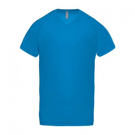 T-SHIRT SPORT HOMME COL V PROACT PA476